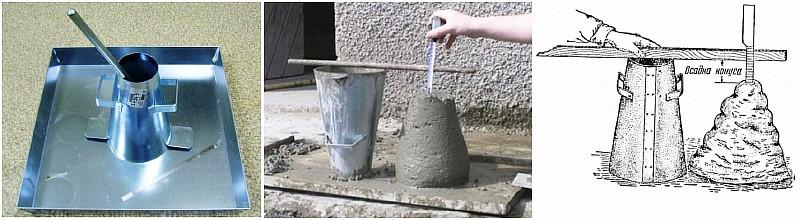 В чем измеряется бетонная смесь купить рюмку для бетона в москве